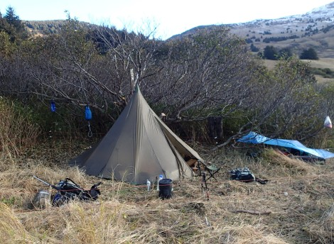 Kifar 6 Man Tipi – First Adventure in a Floorless Shelter